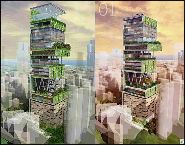 Personal Green Skyscrapers