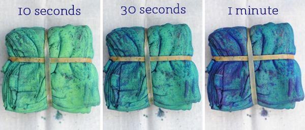 Handmade Tie-Dye Handkerchiefs