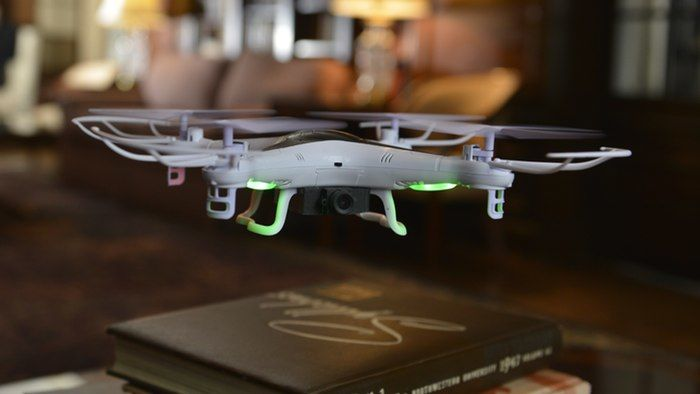 App-Controlled Indoor Drones