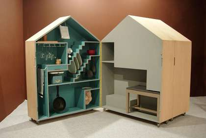 Playhouse Inspired Kitchen Storage This Adorable Mini