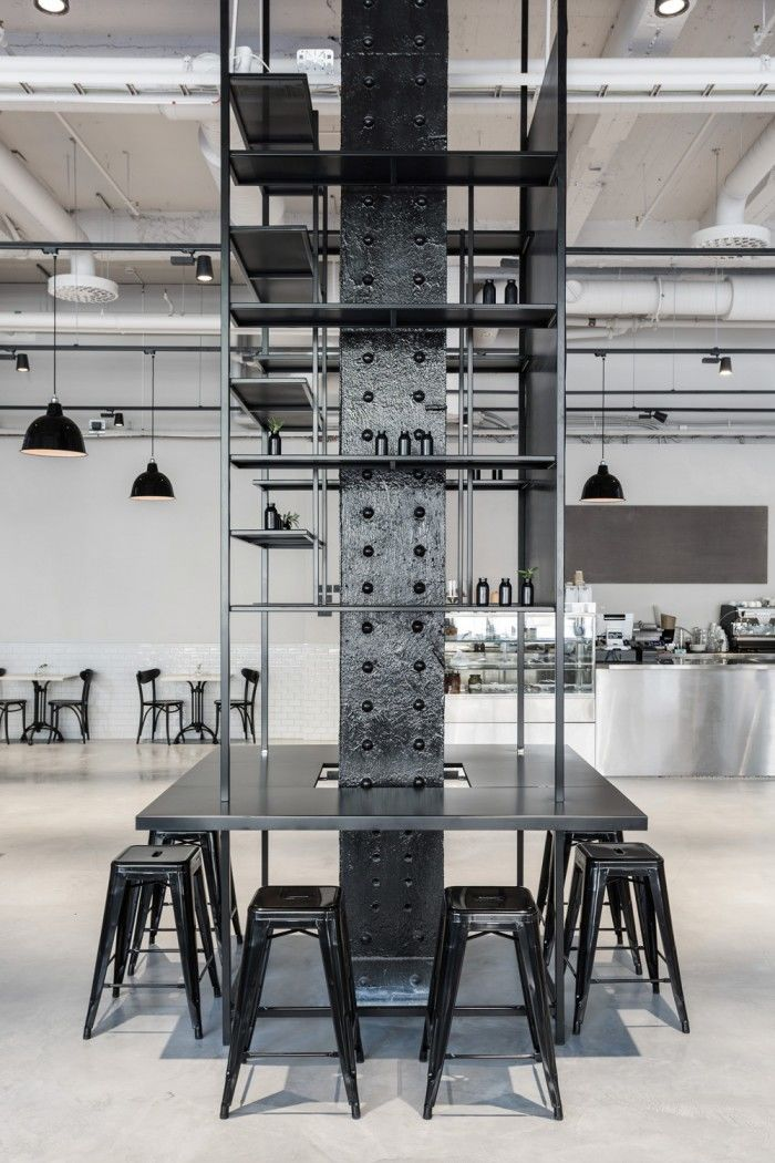 Industrial Restaurant Interiors