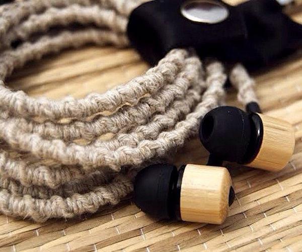 Bamboo Hemp Earbuds