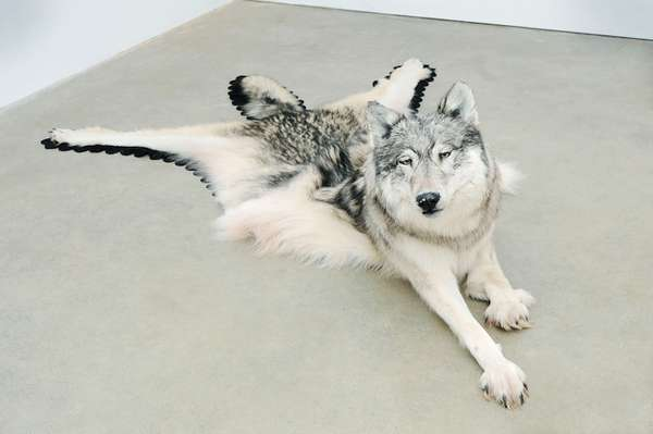 Melting Taxidermy Art