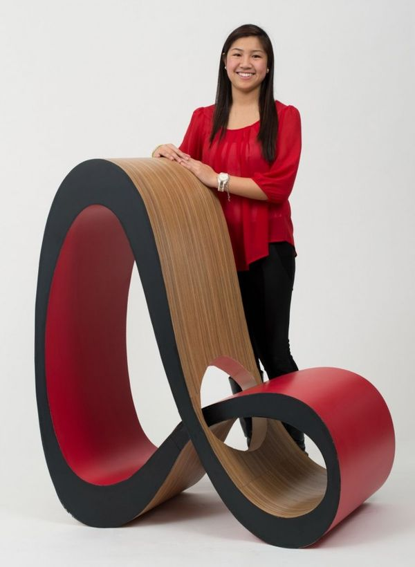 Sculptural Looping Seats