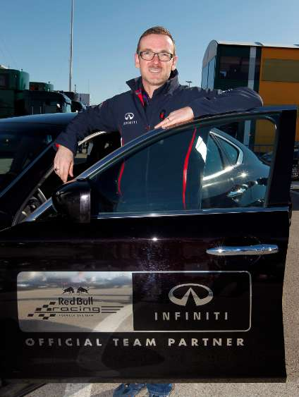 Andreas Sigl, Global Director, Infiniti Formula 1 (INTERVIEW)