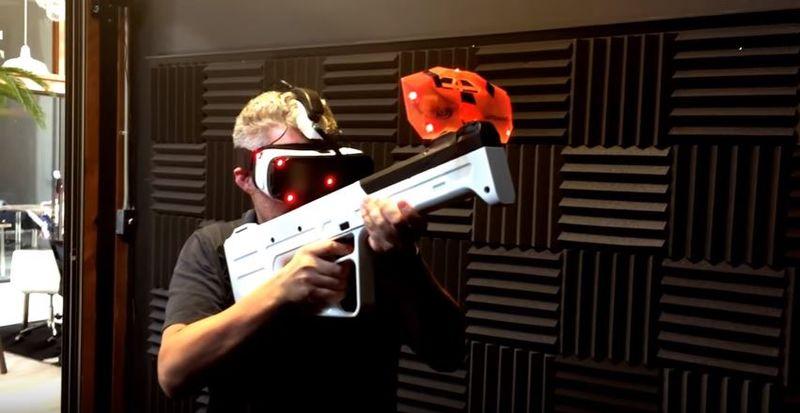 Haptic VR Guns