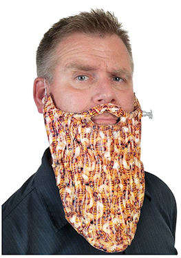 Faux Insect-Filled Beards