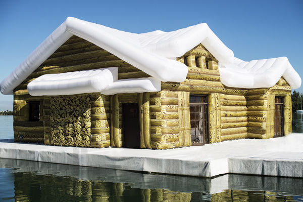 Charming Inflatable Cabins Inflatable Cabin