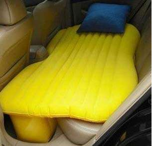Blow-Up Backseat Beds