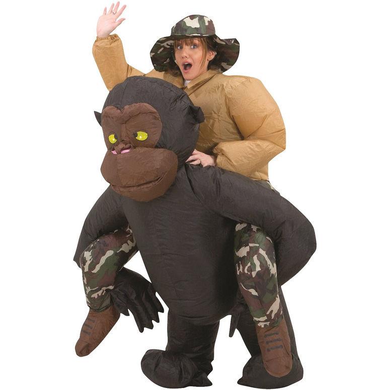 Gorilla-Riding Costumes