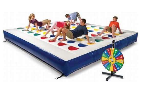 Inflatable Outdoor Color Dot Game
