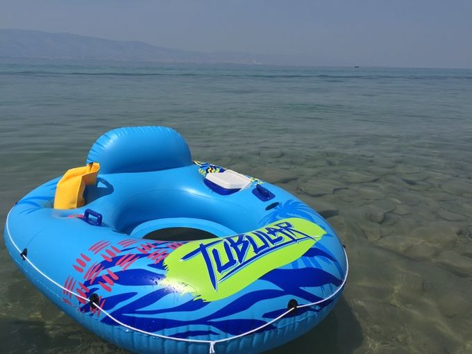 Bluetooth-Equipped Pool Floats
