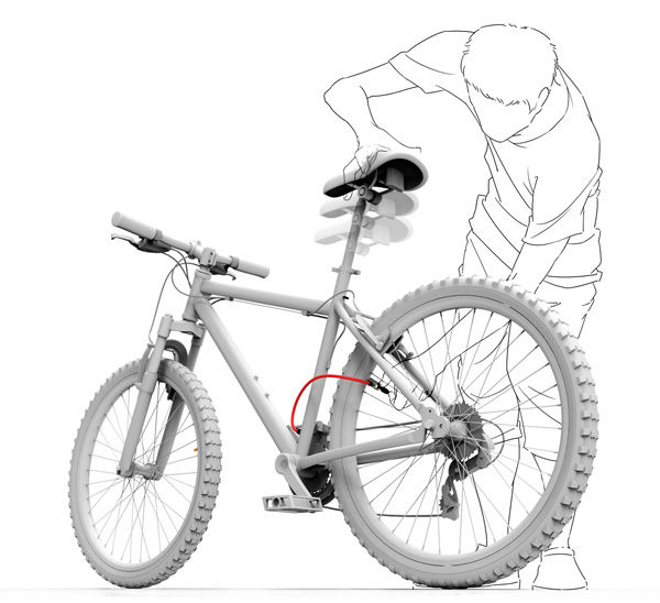 Self-Pumping Bicycles