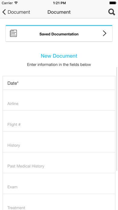 Aerial Medical Emergency Apps