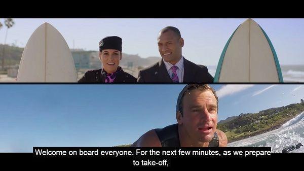 Adventurous In-Flight Safety Videos