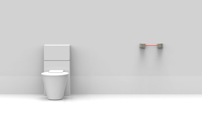 Infrared Toilet Flushing Devices