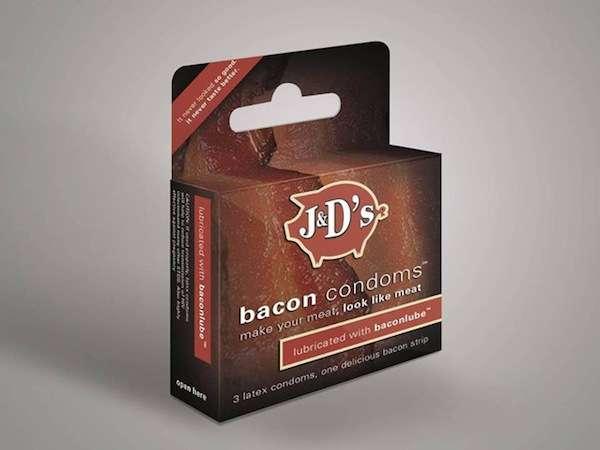 Bacon-Flavored Condoms