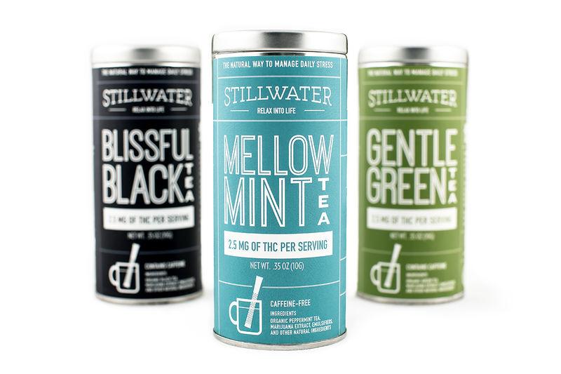 Functional Marijuana Tea Packaging