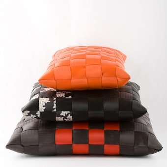 Recycled Seatbelts as Hammocks And Pillows
