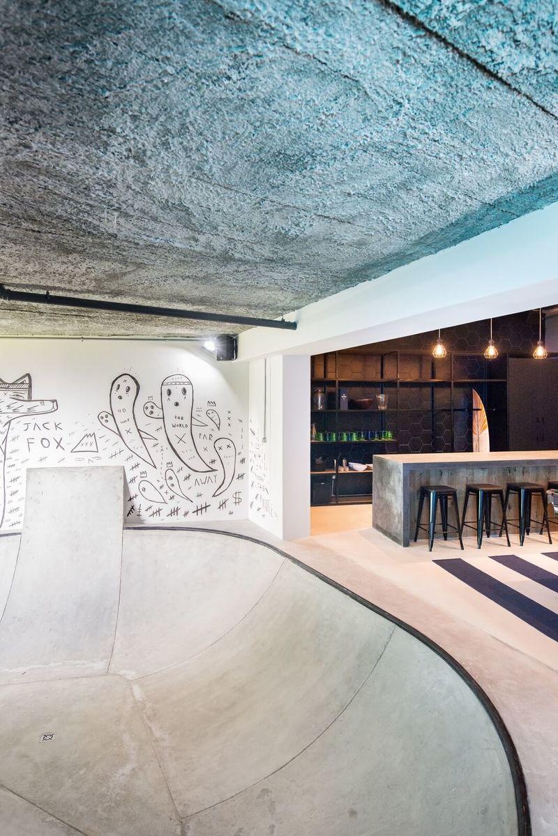 Skateboard Park Rec Rooms