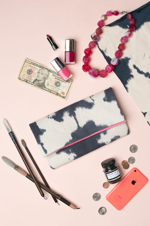 Artistically Inked Clutches