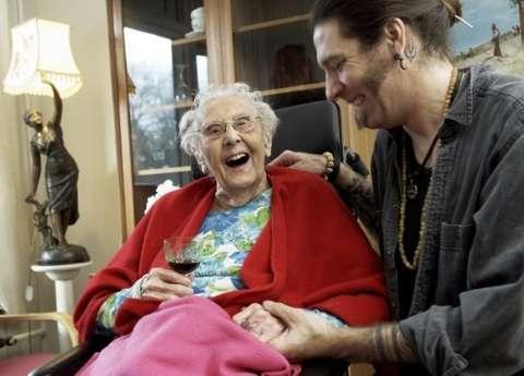 Inking Grandmas