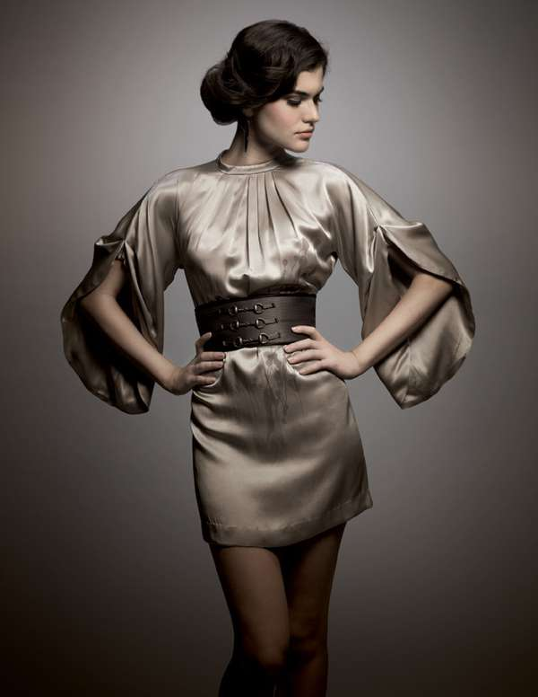 Kimono Sleeves & Gladiator Belts