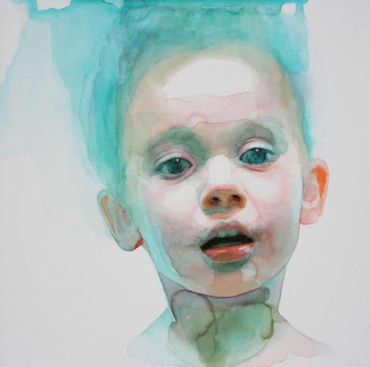 Youthful Watercolor Portraits