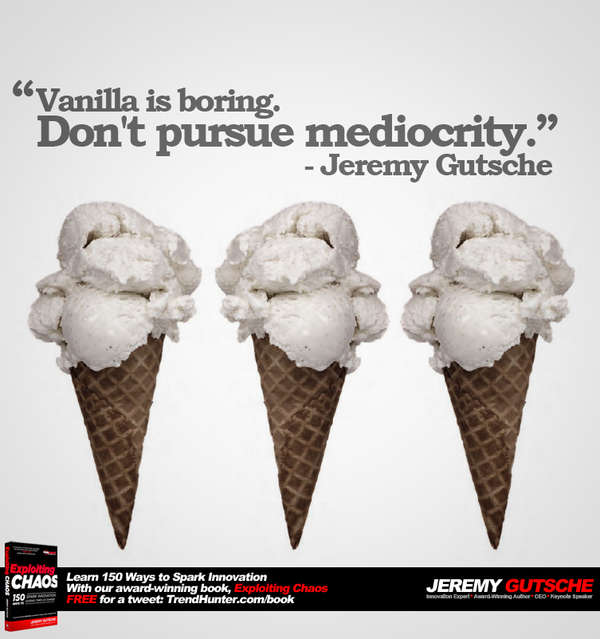 Don't Pursue Mediocrity