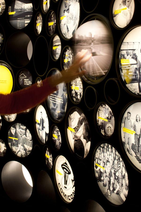 Interactive Futuristic Exhibits