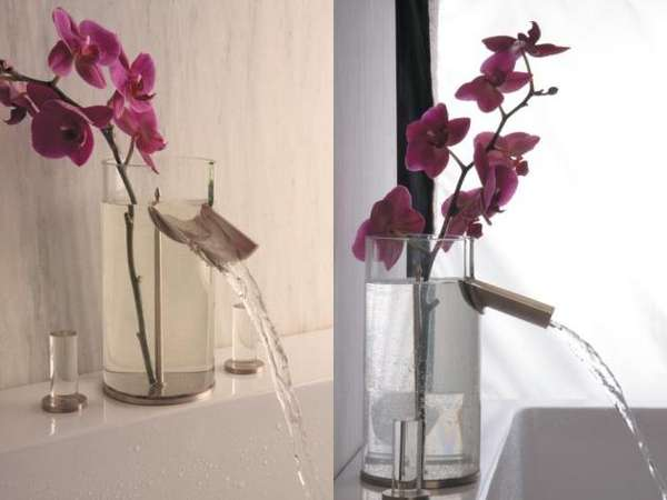 Blooming Bathroom Sinks