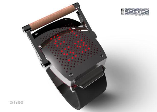 Illuminating Crankshaft Watches