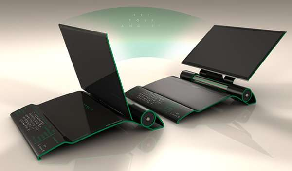 Sleek Sinuous Laptops