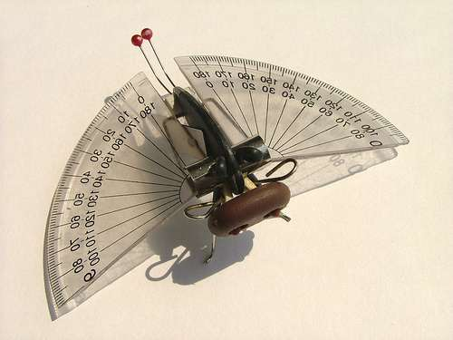 Insects From Found Objects