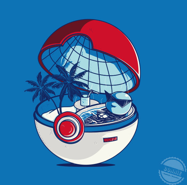 inside of a pokeball