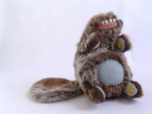 Inside-Out Stuffed Animals