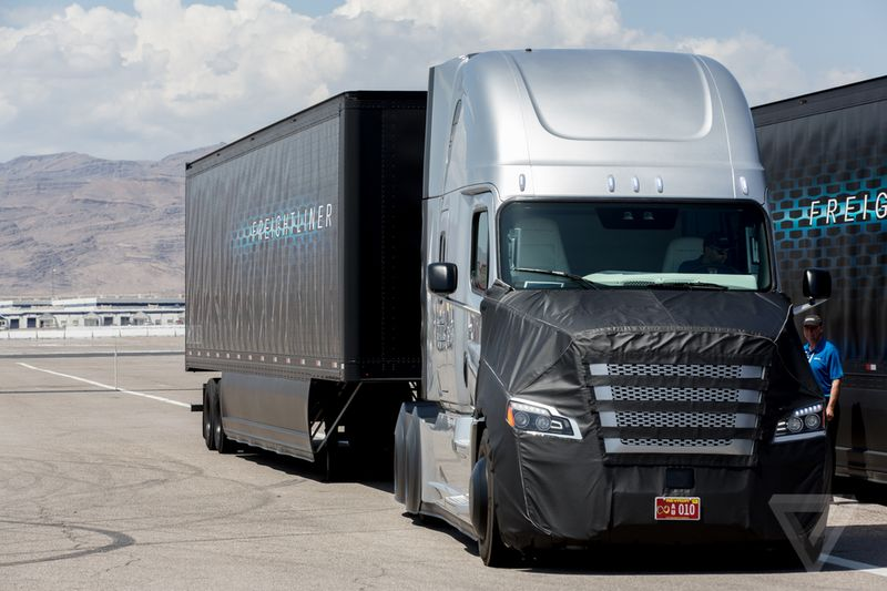 Self-Driving Commercial Trucks