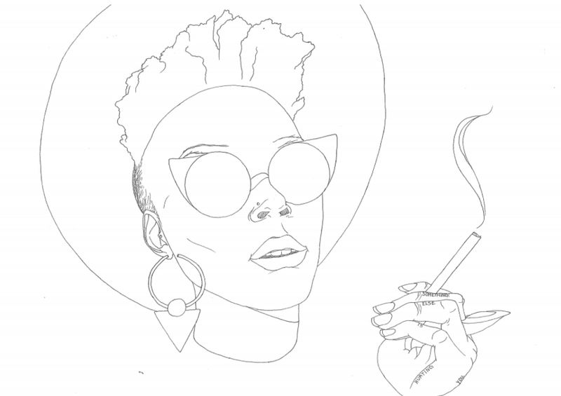 Afro-Feminist Coloring Books