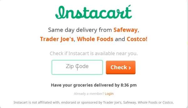 Crowdsourced Grocery Services