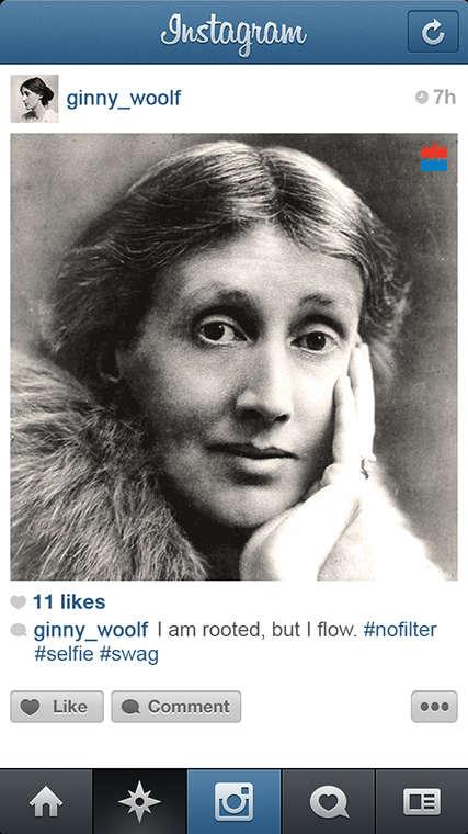 Iconic Writer Instagram Spoofs