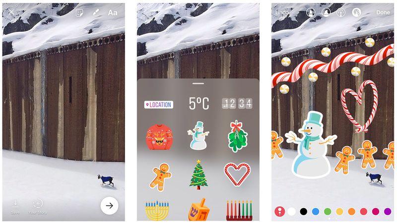 Festive Social Media Emojis