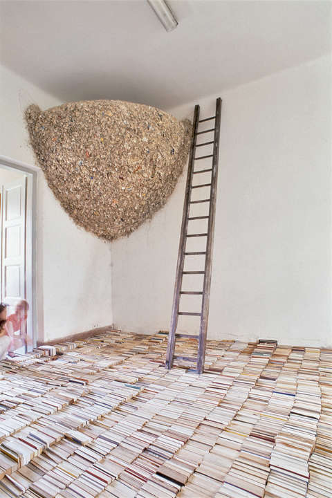 Literary Art Installations