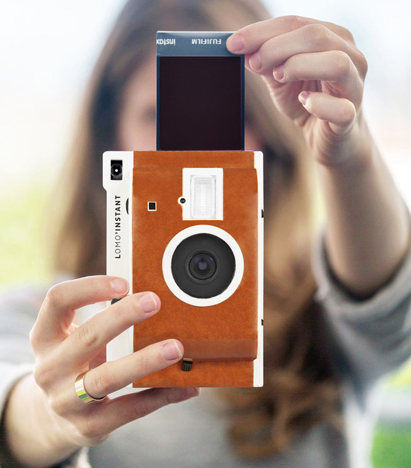 Filtered Polaroid Cameras