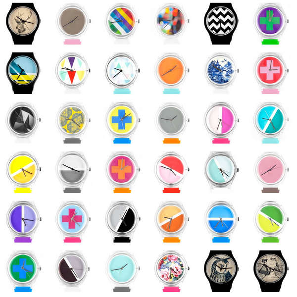 Customizable Tech Timepieces