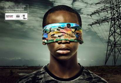 Blindfolded Victim Ads
