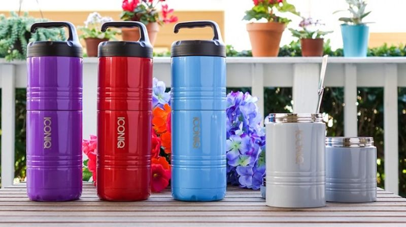 Stackable Insulated Meal Containers