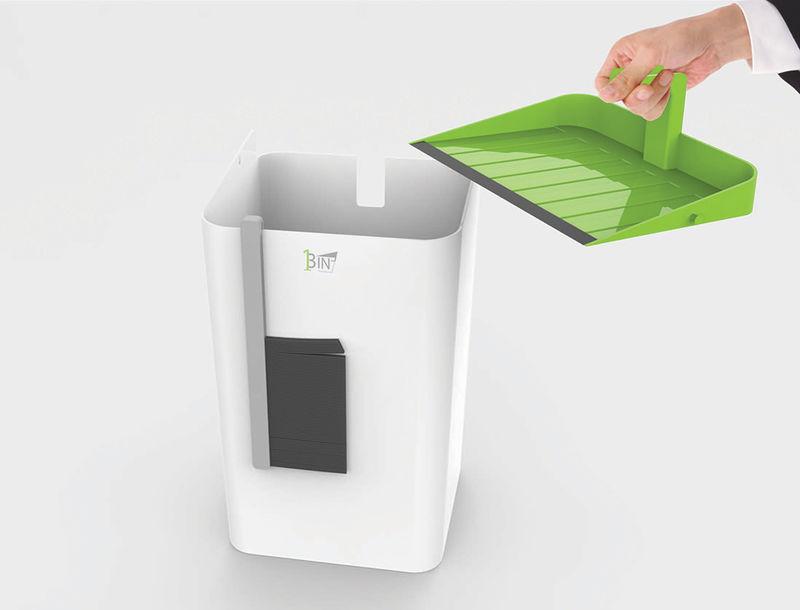 Integrated Garbage Bins