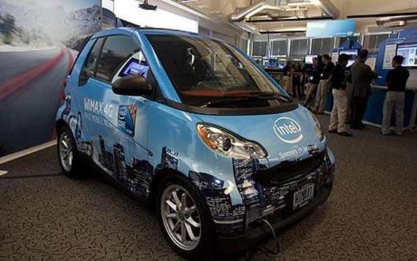 Intel Connected Smart Car