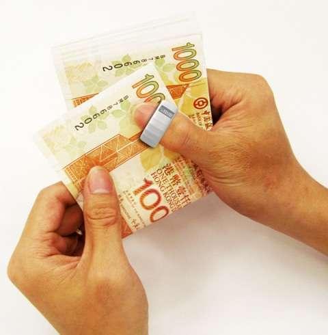 Anti-Counterfeit Thumb Rings