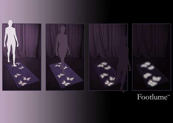 Interactive Glowing Rugs